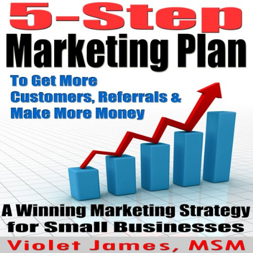 5 Step Marketing Plan cover art