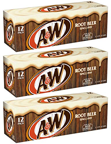 A&W Root Beer - US Import! (36 x 355ml) inkl. 9,00 Euro DPG-Pfand