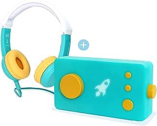 LUNII - Ma Fabrique à Histoires et Octave SIKII - Boîte à Histoires avec Casque Audio Enfant