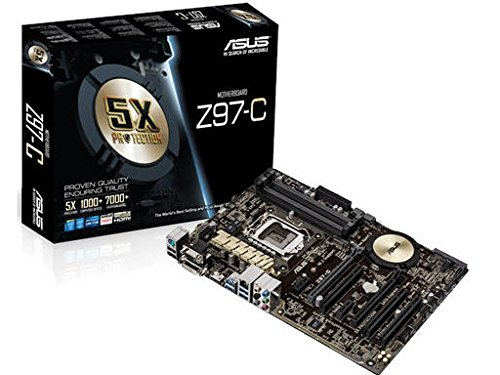 ASUS ATX DDR3 2600 LGA 1150 Motherboards Z97-C
