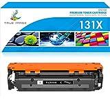 True Image Compatible Toner Cartridge Replacement for HP 131X CF210X 131A CF210A Laserjet Pro 200 Color M251nw MFP M276nw M251n M251 M276n M276 Canon MF8280Cw (Black, 1-Pack)