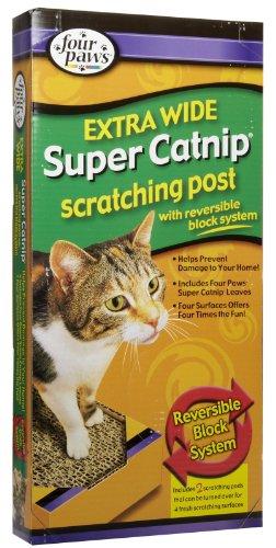 Catnip Scratching Post Extra Wide