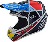 Troy Lee Designs 106109304 Casco Moto Se4 Carbon Metric In Fibra Di Carbonio