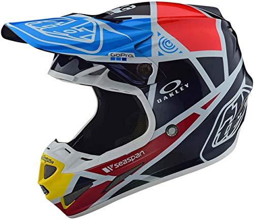 Troy Lee Designs 106109304 Casco Moto Se4 Carbon Metric In Fibra Di Carbonio