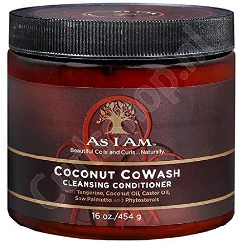 As I Am Kokosnoot Reiniging CoWash Conditioner 16oz