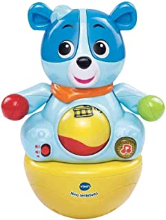 comprar comparacion VTech - Nino tentetieso, muñeco interactivo tentempié que activa alegres frases y melodías cuando el bebé lo mueve, maraca...
