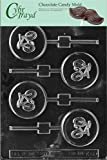 Cybrtrayd Life of the Party K060 Bicycle Bike Cycling Lolly Chocolate Candy Mold in Sealed Protective Poly Bag Imprinted with Copyrighted Cybrtrayd Molding Instructions