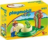 Playmobil- Exploratrice/Bébé Dinosaure, 9121, Taille Unique