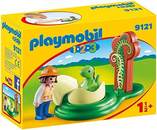 PLAYMOBIL 1.2.3  Huevo de Dinosaurio única