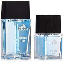 powerful Adidas runs adidas for men. Gift set (1.0 oz eau de toilette + eau de toilette …