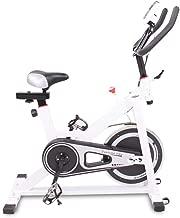 Blackpoolfa Indoor Bike Cycling, 400lbs Weight Capacity Stationary Fitness Bike with 6KG Flywheel, LED Display, Comfortable Seat Cushion