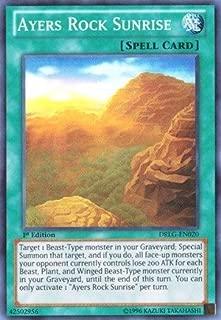 Yu-Gi-Oh! - Ayers Rock Sunrise (DRLG-EN020) - Dragons of Legend - Unlimited Edition - Super Rare