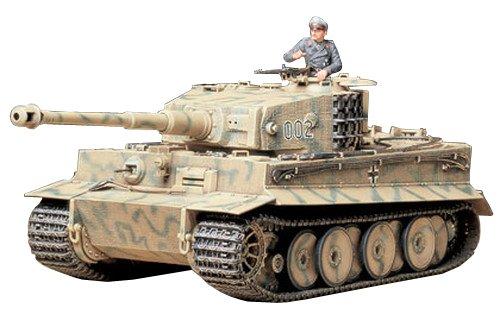 Tamiya 300035194 - Carro Armato 181 Tiger I Mid Production della seconda Guerra Mondiale G FR (1) Realizzato in Scala 1:35
