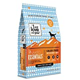 'I and love and you' Naked Essentials Dry Dog Food - Natural Grain Free Kibble, Chicken + Duck, 23-Pound Bag