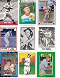 Stan Musial / 9 Different Baseball Cards...