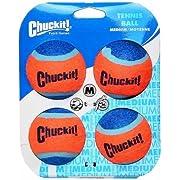 Chuckit Tennis Ball Medium - 4 Stücke