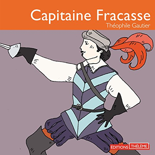 Capitaine Fracasse audiobook cover art
