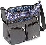 Satchelli Crossbody Purse with RFID Passport Holder, Shoulder Bag for Women, Lightweight for Travel,...