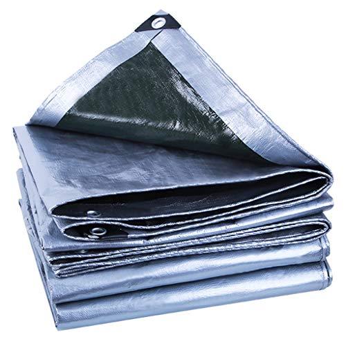TRNCEE PE regenhoes outdoor waterdicht UV-zeil roestvrije sluitring stofdicht gemakkelijk te reinigen overkapping 3x6m (10ft x 20ft)