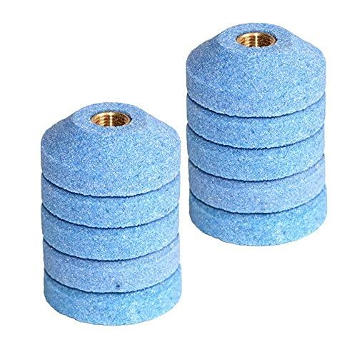 Multiusos 10 unids 30 mm de pulido taza de taza de pulido de taza de pulido Rueda de piedra para aire micro amoladora neumática abrasiva de piedra Punto de pulido Durable ( Color : Grit 150 10pcs )