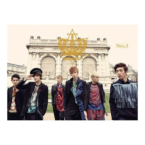 KPOP CD, Teen Top, 1nd NO.1(included Shinee's Poster 60p photo book)[002kr]