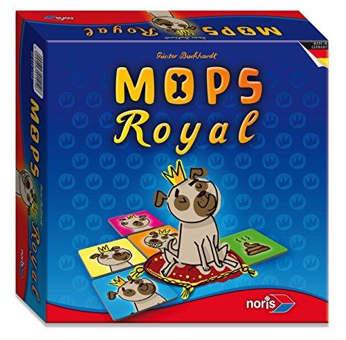 noris 606101412 - Mops Royal, Brettspiel