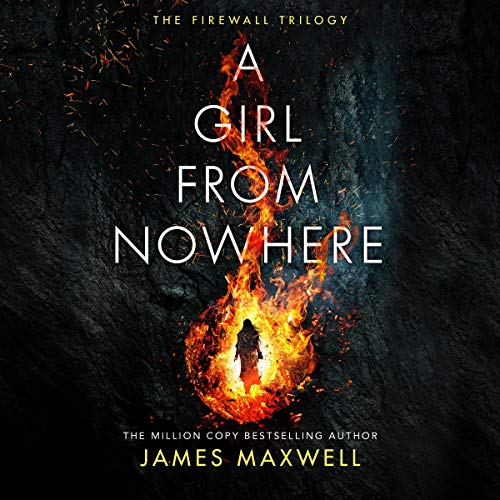 A Girl from Nowhere audiobook cover art