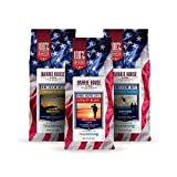 Barrie House Heroes Reserve Variety Pack   3 x 10oz Bags, One of Each Roast Blend   100% Arabica Ground Coffee   Supporting Our Veterans In Partnership With Headstrong Project