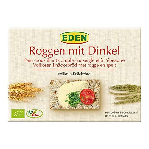 Eden Bio Roggen Dinkel Vollkorn Knäckebrot 250g