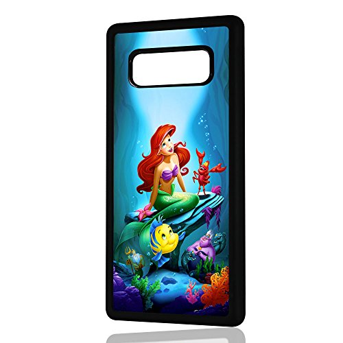 (for Samsung Galaxy S10) Durable Protective Soft Back Case Phone Cover - A11128 Little Mermaid Ariel 11128