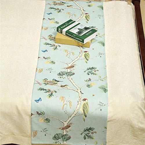 Mantas de CamaPájarosFloralesSofá Manta de Hotel Ropa de Cama de algodón Manta Decoración de Aire Acondicionado portátil para Coche, 2,50x260cm