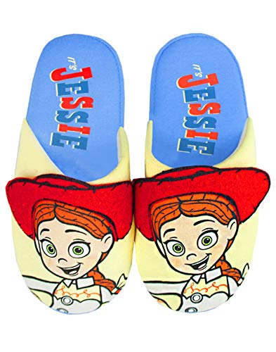 Price comparison product image Disney Pixar Toy Story Jessie Partial 3D Girl's House Slippers (8-9 UK)