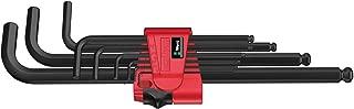 Wera Hexagon 950 PKL/9 BM SB L-Key Set, BlackLaser, Ballpoint Hex Key, 9 Piece