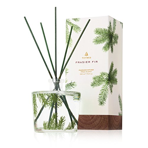 Thymes - Frasier Fir Reed Diffuser - Pine Needle Design - 7.75 Ounces