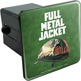 Graphics and More Full Metal Jacket Born to Kill Tow Trailer Hitch Cover Plug Insert 2 Inch Receivers Black TH.200.WBGAM033.Z004807_8