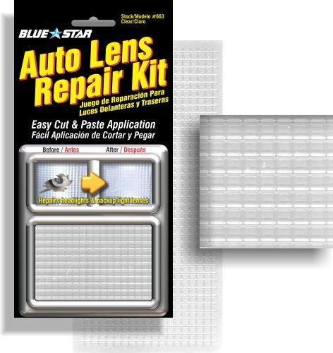Blue Star Auto Reverse Light / Tail Light / Head Light Lens Repair Kit Clear