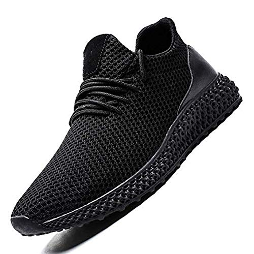 nobrand Men Non Slip Fashion Breathable Sneakers Running Shoes Mesh Soft Sole Athletic Lightweight Casual Walking Shoes