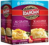 Made with 100-Percent Real Idaho potatoes Naturally Gluten-Free potatoes perfectly blended with rich butter for a classic favorite Combo pack includes 3 boxes of au gratin potatoes and 3 boxes of scalloped potatoes with sauces, 30 total servings Easy...