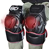 Knee Physiotherapy Massager, Adjustable Heat Therapyand Vibration Massage Knee and Joint Pain Relief Massager, Ideal Gift for Mom,Dad, Men,Women