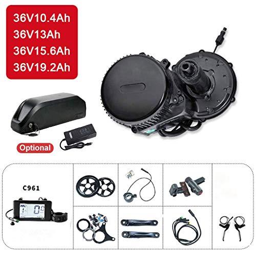 GGD Elektro-Fahrrad Umbausatz 36V 250W Elektrisches Fahrrad Umbausatz Mit 36V Ebike Batterie,36V 10.6Ah-36V250W52T