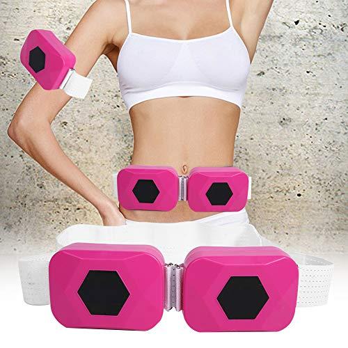 Cinturón adelgazante eléctrico vibrador masajeador, cinturón abdominal moldeador corporal, cinturón adelgazante cinturón tonificador abdominal cinturón de masaje adelgazante motor dual eléctrico para