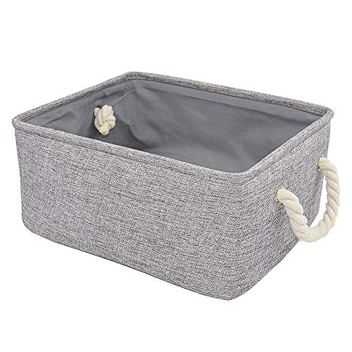 Silanto Grey Storage Baskets Bins