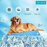 WELLXUNK Alfombrilla de Refrigeración Animales, Enfriamiento Camas de Mascotas,...