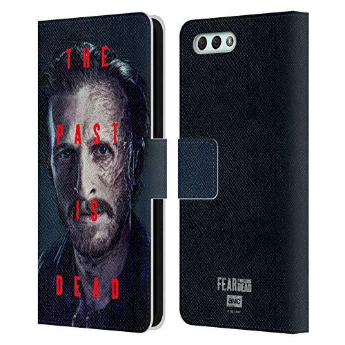 Head Case Designs Licenza Ufficiale Fear The Walking Dead Dwight Stagione 6 Personaggi Cover in Pelle a Portafoglio Compatibile con Zenfone 4 ZE554KL