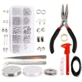 Artilife Jewelry Making Supplies Kit - Jewelry Repair Tool with Accessories Jewelry Pliers Jewelry Findings...