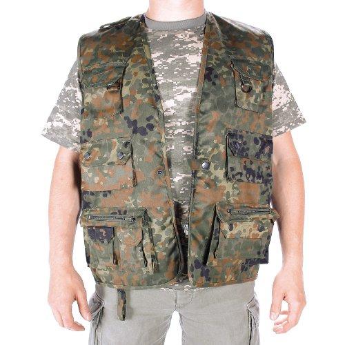 da Caccia e Gilet da Pescatore, Camouflage, Taglia: XL