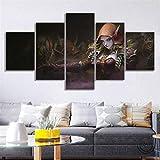 AWEIE Pinturas de Warcraft Juego Cartel de la Pared Sylvanas World of Warcraft Video Art Cavnas Pintura al óleo del Arte de la decoración (Color : No Framed, Size (Inch) : Size 2)