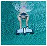 Underwater Scooter 2 Speed Free Diving Booster Snorkel Booster Diving Go Pro Compatible Swimming Trainer (White)