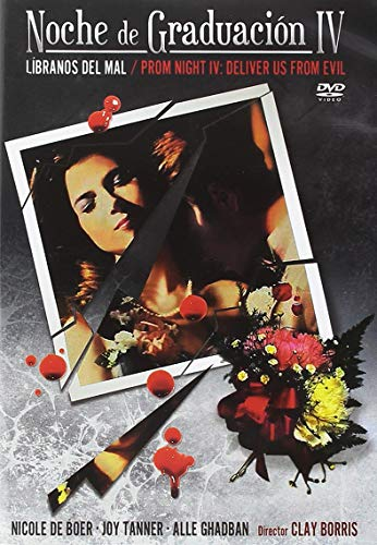 Prom Night IV Deliver Us From Devil DVD Region 2 (Spanish Release) Prom Night 4 Deliver Us From Devil