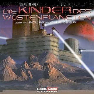 Die Kinder des Wüstenplaneten (Dune 3) audiobook cover art